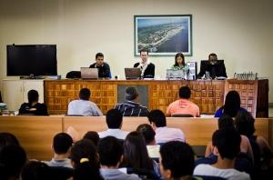 Foto do Julgamento do assassinato de José Caludio e D Maria